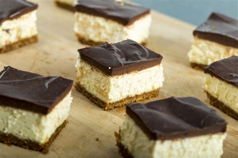 cheesecake topping bar decadent cheesecake bars with chocolate ganache topping home sweet jones