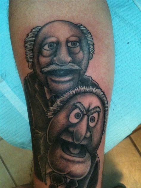 tattoo savannah ga statler and waldorf muppets jim henson by jason