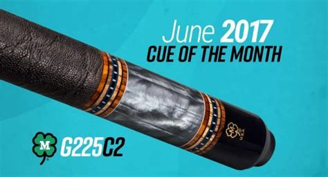 Mcdermott Cue Giveaway - mcdermott announces cue of the month giveaway for june 2017 news azbilliards com