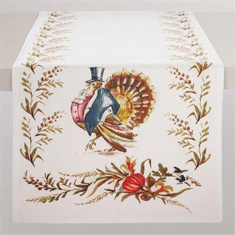 Thanksgiving Table Runners by Turkey Table Runner World Market