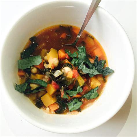 vegetables kale kale vegetable soup kara the cook