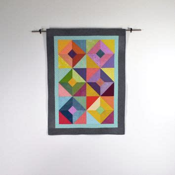 Modern Quilt Wall Hanging by Shop Hanging Ba Quilt On Wall On Wanelo Modern Quilt Wall