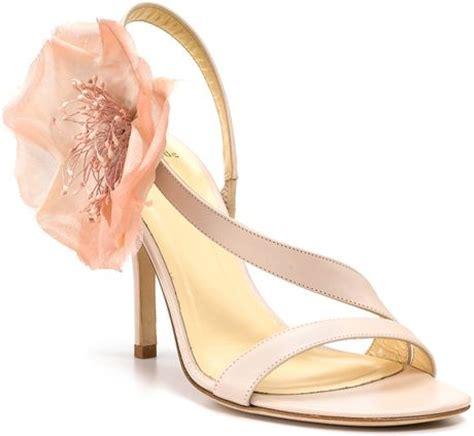 blush flower shoes kate spade new york lavish flower sandals in pink blush
