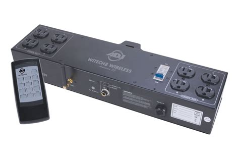 Dj Light Controller by American Dj Witech 8 Wireless Controller Allows Wirefree Lighting