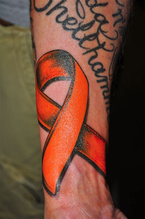 leukemia ribbon tattoo designs ms ribbon by sevil rossell built to last york pa717 ms