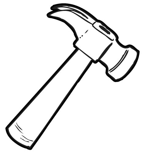 clip of nail and hammer clipart clipart suggest
