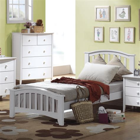 san marino bedroom set acme furniture san marino 09150t twin slatted headboard
