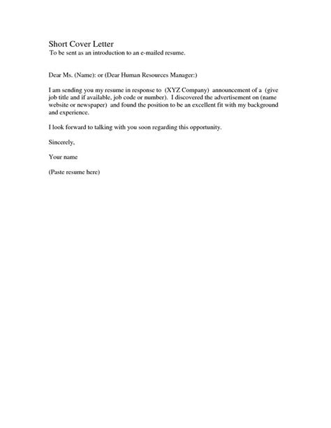 simple cover letter samples cv templates simple