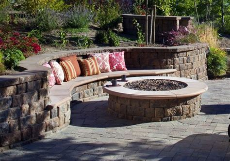 garden wall bench curved built in bench in retaining wall i like the shape