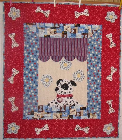 Puppy Quilt Pattern by 1000 Images About Dogs And Cats Quilts On