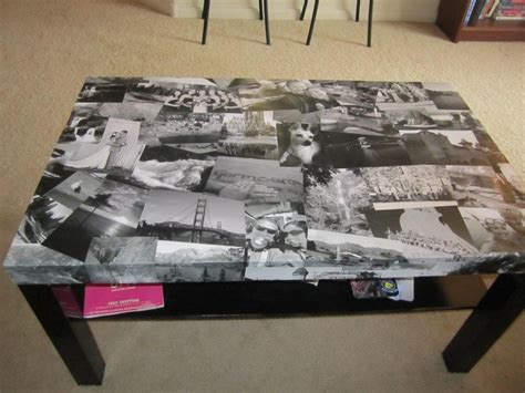 Decoupage Glass Table Top - 10 creative ways to decoupage your furniture coffe table