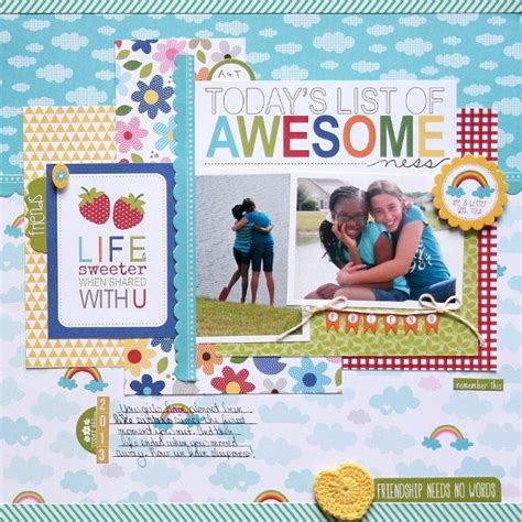 scrapbook layout for friends 181 best scrapbook layouts friends friendship images