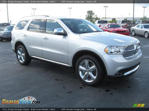 dodge durango citadel 2011 2011 dodge durango citadel bright silver metallic black