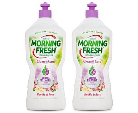 Fresh Guava 0003 650 Ml 2 x morning fresh clean care dishwashing liquid vanilla
