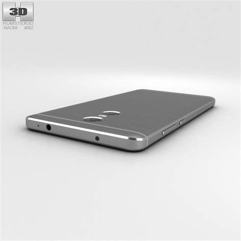 3d Xiaomi Redmi 3 Pro xiaomi redmi pro gray 3d model hum3d
