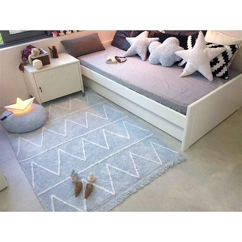 tapis chambre enfant garcon tapis lavable hippy bleu avec franges chambre b 233 b 233 gar 231 on