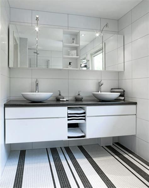 white mosaic bathroom modern flooring for bathrooms decozilla