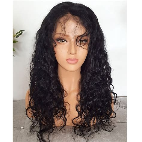 and wavy human hair alicrown 150 density human hair full lace wigs human hair