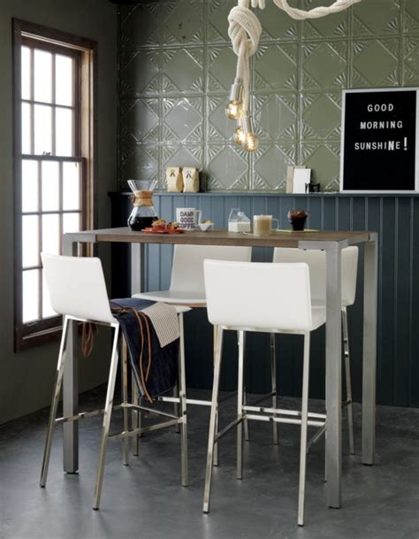 high top dining room table and chairs stilt 42 quot high dining table table and chairs high top