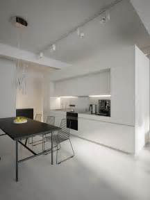 Home Trends And Design Buffet Modern White Kitchen Diner Interior Design Ideas
