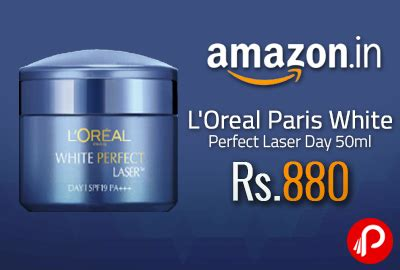 L Oreal White Clinical l oreal white laser day 50ml at rs 880