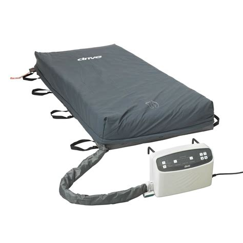 drive 14029 med aire plus low air loss mattress replacement alarm blue ebay