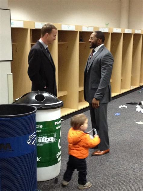 saturday live peyton manning locker room peyton manning stayed at the stadium for 90 minutes so he could talk to lewis after the epic