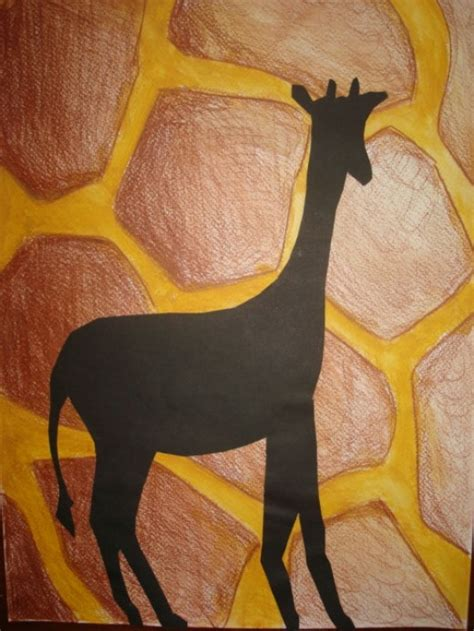 pattern and texture ks1 art lessons for kids animal silhouettes and patterns