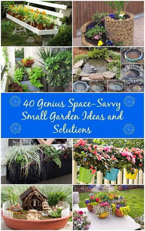 40 creative small garden ideas well done stuff