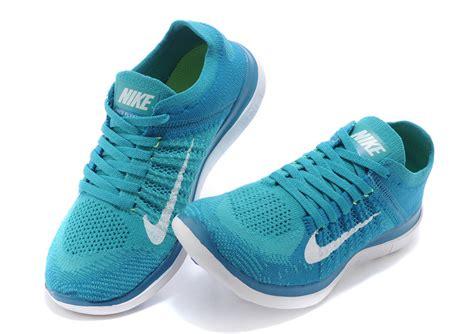 nike free knit 4 0 womens s free flyknit 4 0 light blue shoes