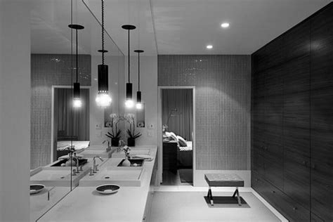 Modern Bathroom Design Lighting Interior Design Free Murder On