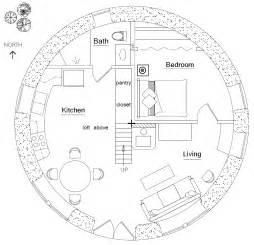 Blueprints Homes Roundhouse Plan Earthbag House Plans
