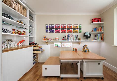 playroom table with storage bespoke custom made to measure playrooms for children