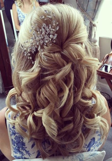 Wedding Hair Half Up Accessories 37 half up half wedding hairstyles anyone would
