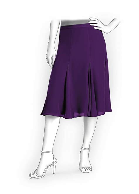 free pattern gored skirt 6 gore skirt sewing pattern 5924 made to measure