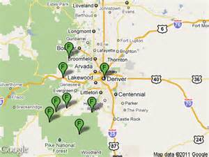 fishing maps colorado colorado fishing network where to fish denver metro region