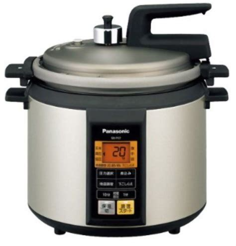 panasonic microcomputer electric pressure cooker noble chagne sr p37 n coconuas81