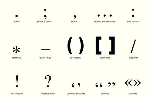 imagenes de simbolos y signos los signos de puntuaci 243 n y sus ejemplos signo de