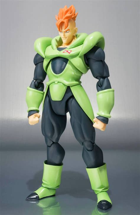 z sh figuarts android 16 figure up for order anime news