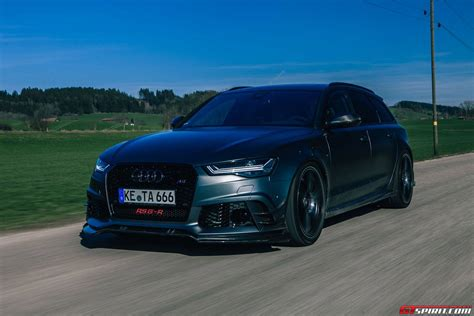 Audi Rs6 R Abt by Abt Rs6 R Review Gtspirit
