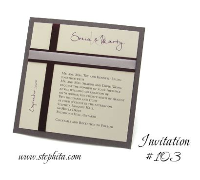 stephita wedding invitations wedding invitation 103 charcoal pearl smooth