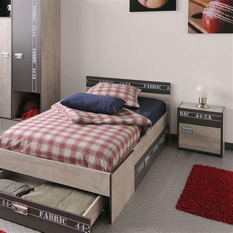 nachttisch grau schlafzimmer nachttisch nachtschrank fabien 5 40x46x28cm esche grau