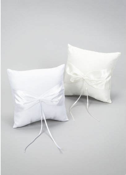 design your own ring pillow david s bridal
