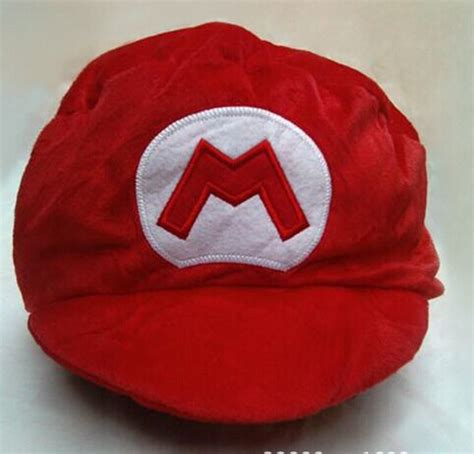Topi Pet Anak Bayi Mario Bros Wholesale Props Mario Hat And