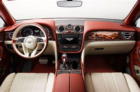 bentayga bentley interior bentley bentayga by mulliner interior motor trend