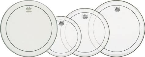 Drumhead En 0312 Ps Encore Pinstripe Clear 12inch remo snare drumheads fusion propack pp 0310 ps deri seti