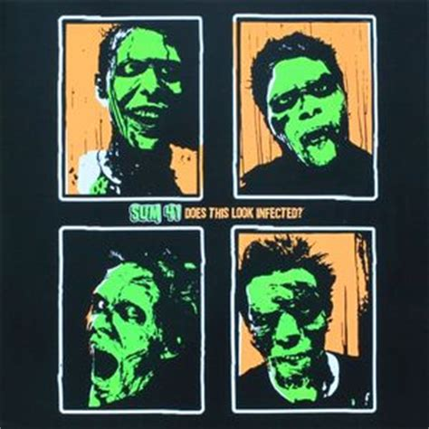 sum 41 does this look infected colored vinyl