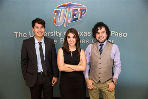 Mba Utep by The Of At El Paso Utep