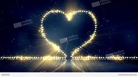 heart shaped christmas lights heart shape christmas lights loop background stock