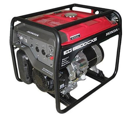 honda generator eg6500cxs 5 5kva key start at